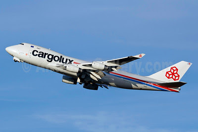 Cargolux Airlines International (Luxembourg) Boeing 747-4R7F LX-UCV (msn 33827) VCP (Rodrigo Cozzato). Image: 909082.