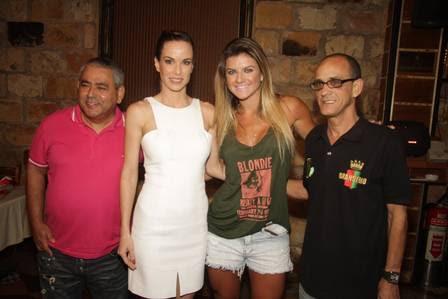 Jayder Soares, Ana Furtado, Mirella Santos e mestre Ciça
