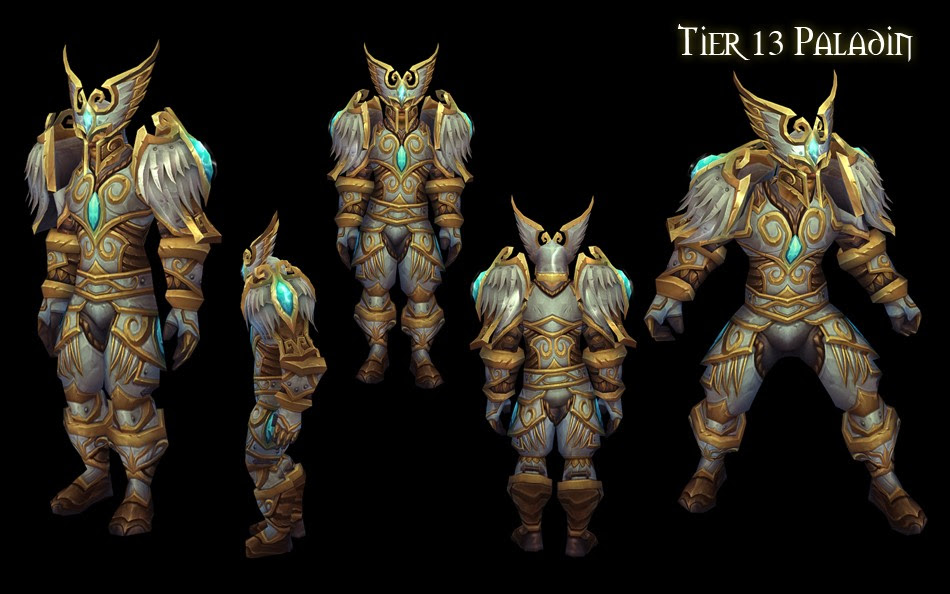 World of Warcraft All Tier 13 Armor Sets