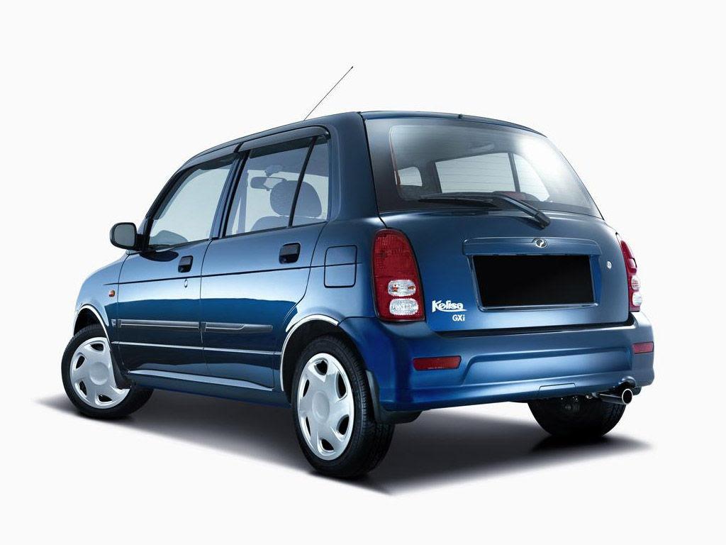 Perodua Kelisa technical specifications and fuel economy