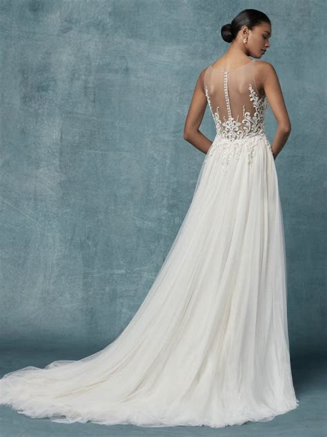 Seeley Wedding Dress Bridal Gown   Maggie Sottero