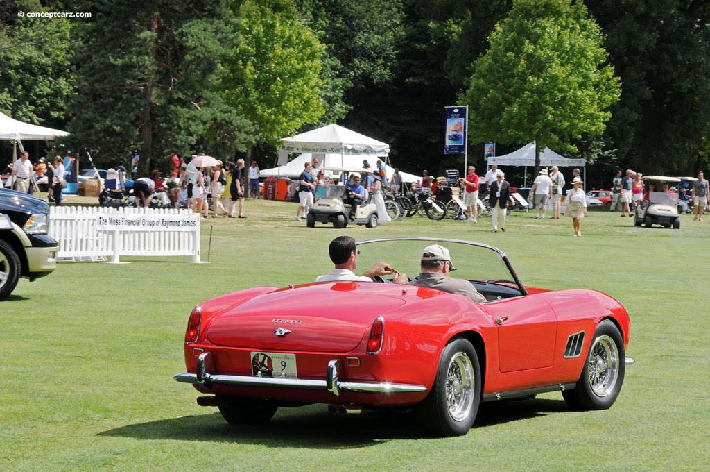 1963 Ferrari 250 GT California at the Concours d'Elegance ...