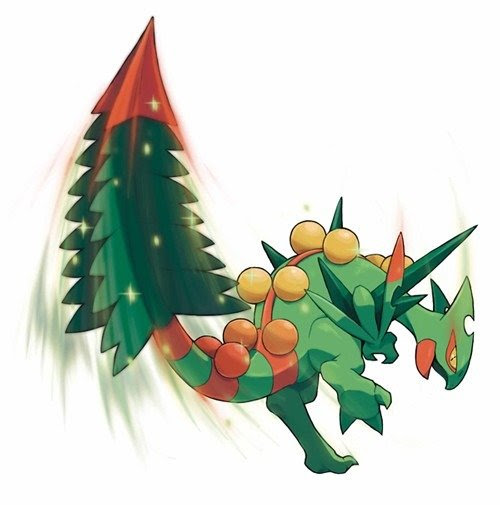 First Look On Mega Sceptile, Mega Blaziken amp; Mega Swampert