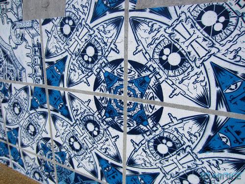 Arte Urbana by Add Fuel - Azulejos, Herança Viva na Figueira da Foz Portugal - Desenhos (8) [en] Urban art by Add Fuel - Tiles, Living Heritage in Figueira da Foz, Portugal