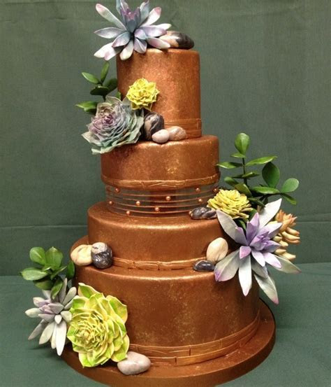 Top Succulent Wedding Cakes   CakeCentral.com