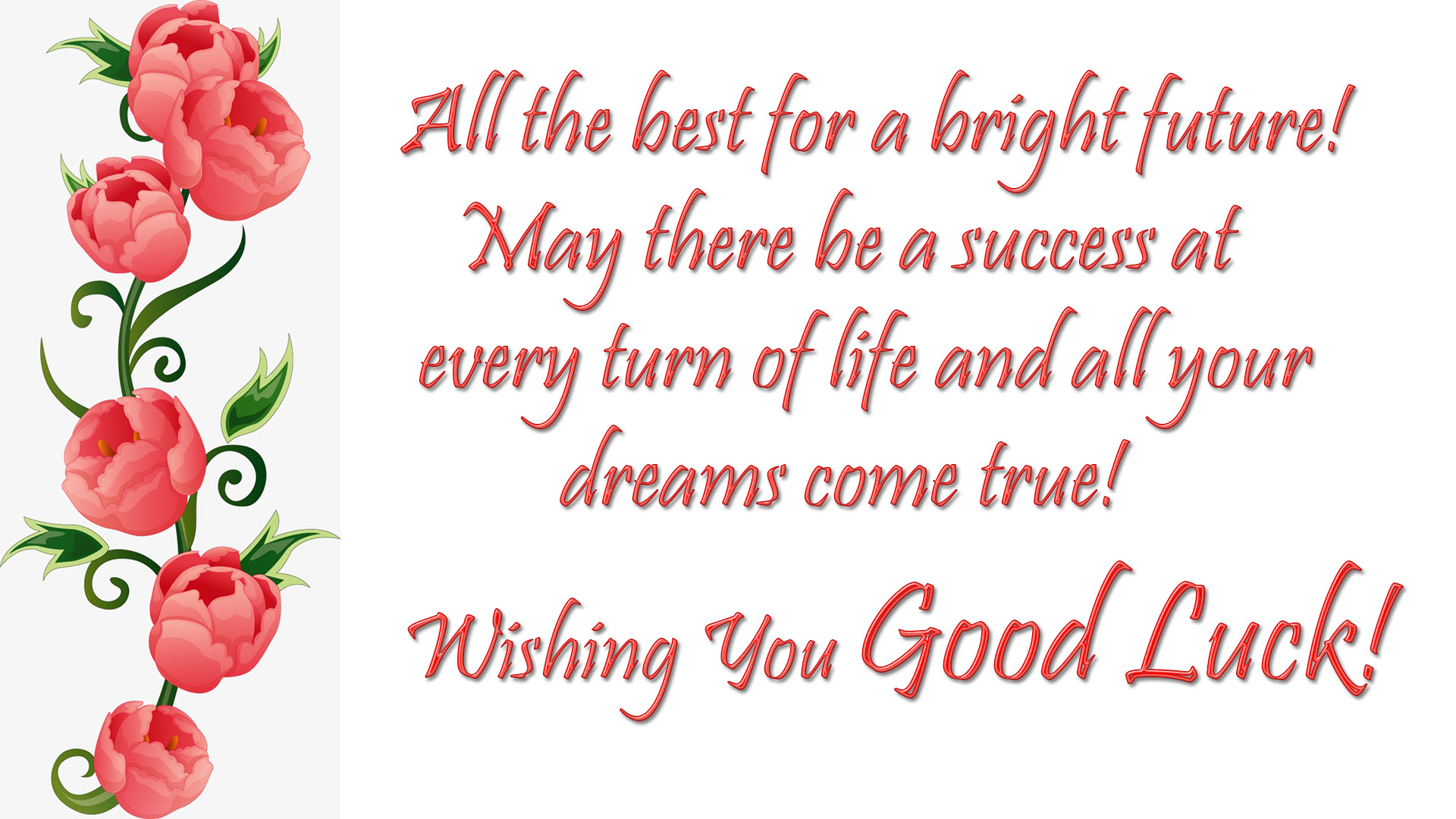 Good Luck Wishes Quotes Messages Images All The Best Wishes