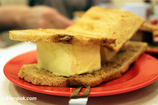 Ice Cream Toast - Durian