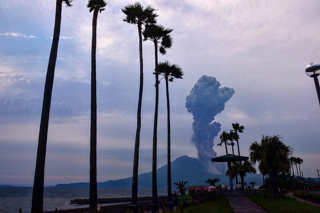 Sakurajima eruption april 2017