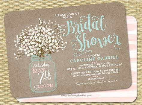 43  Bridal Shower Invitation Examples   Word, PSD, AI, EPS