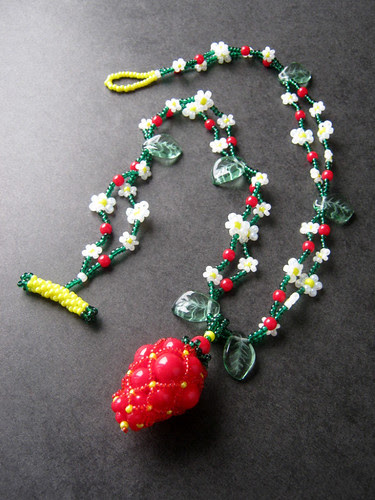 Promise of Summer Strawberry Pendant