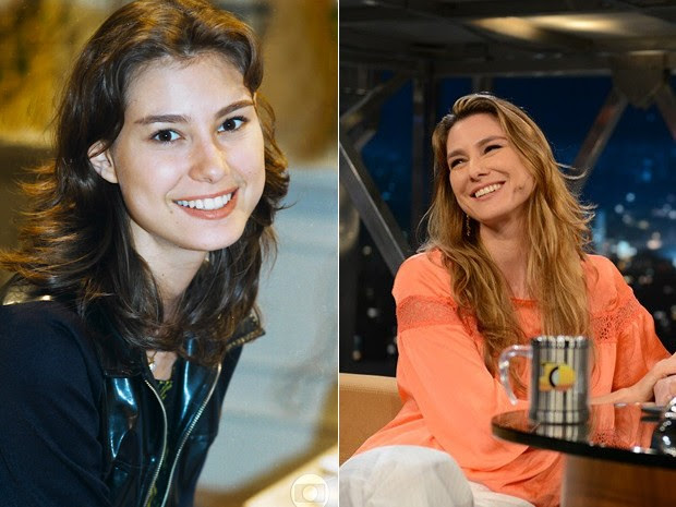 Lavínia Vlasak relembra seu primeiro papel de destaque na TV (Foto: Cedoc / TV Globo)