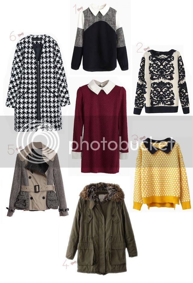 fashion blogger Linz Austria mode bloggerin blogger de moda Argentina Buenos Aires wishlist choies fall winter 2013 hundstooth coat