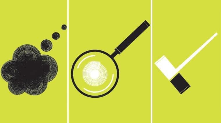 Evidence vs perception