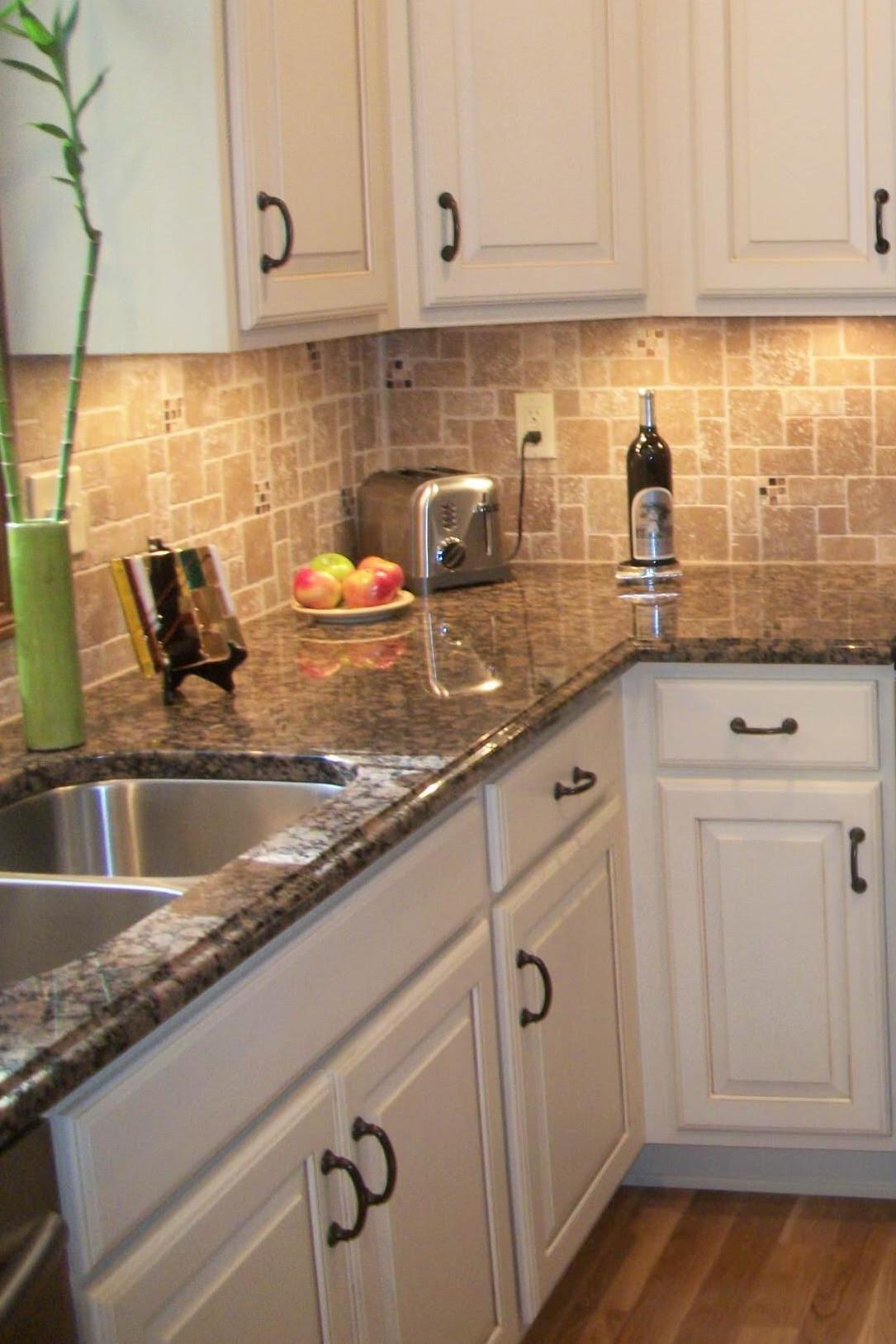 50+ Popular Brown Granite Kitchen Countertops Design Ideas