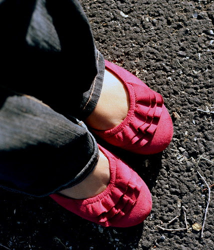 """My """"Berry"""" nice shoes .....  :)"""