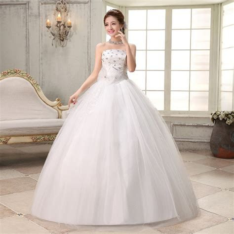 Free shipping 2016 new cheap wedding gown white lace