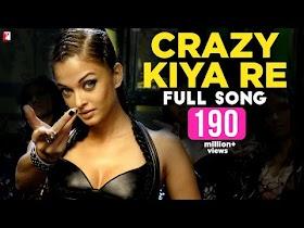Crazy Kiya Re - Full Song   Dhoom:2   Hrithik Roshan   Aishwarya Rai   Sunidhi Chauhan