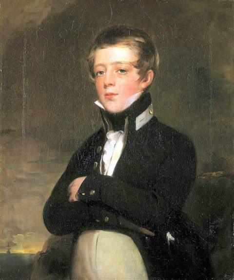 Midshipman John Russell