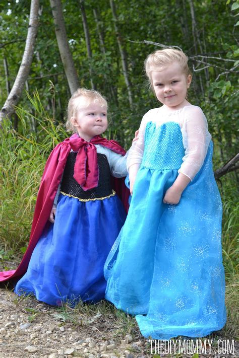 Sew an Elsa Inspired Frozen Snow Princess Dress ? The DIY