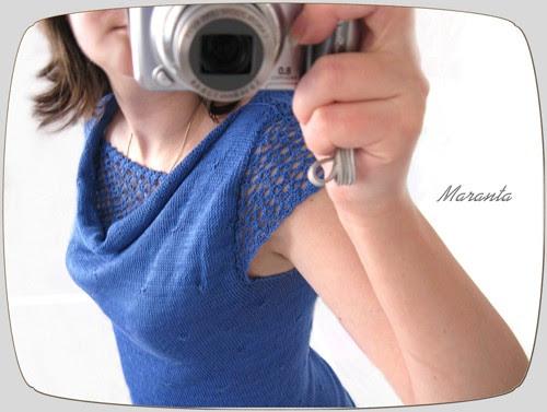 bluzeczka na drutach