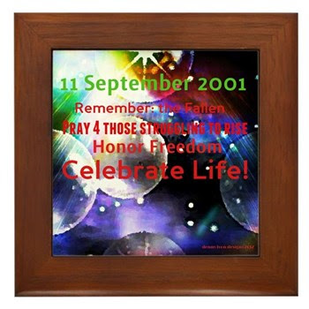 September 11th Framed Tile