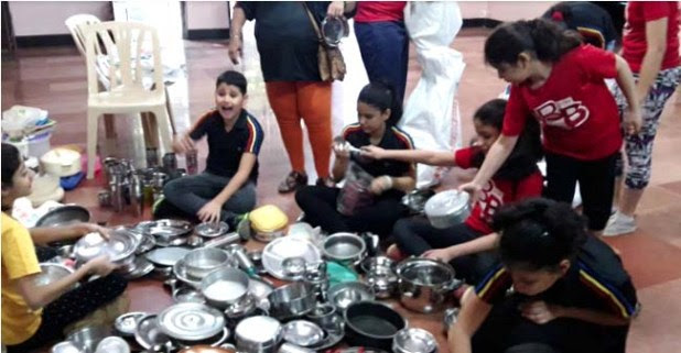 Parsi Kids Collected 15,000 Vessels And Utensils For Charity In Just 3 Hours