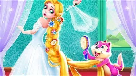 Long Hair Princess Wedding   Make Up and Dress Up Game for