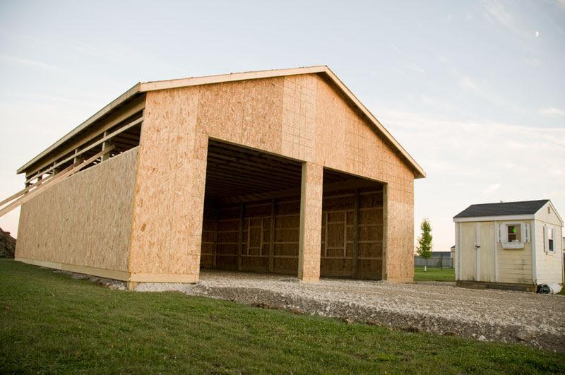 5 x 3 Pole barn builders evansville indiana