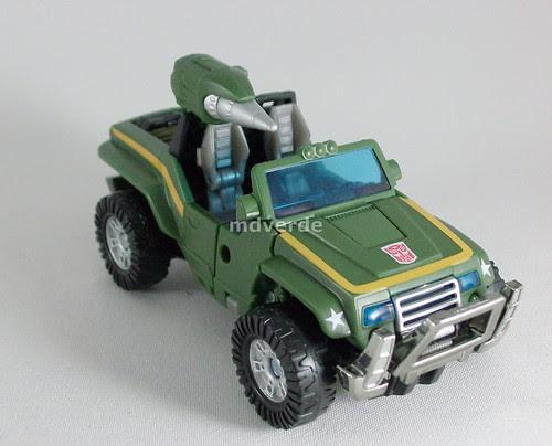 Transformers Hound Classics Henkei - modo alterno (by mdverde)