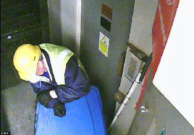 Investigation: The Metropolitan police has previously released CCTV footage showing the suspects believed to be involved in the Hatton Garden heist over the Easter weekend