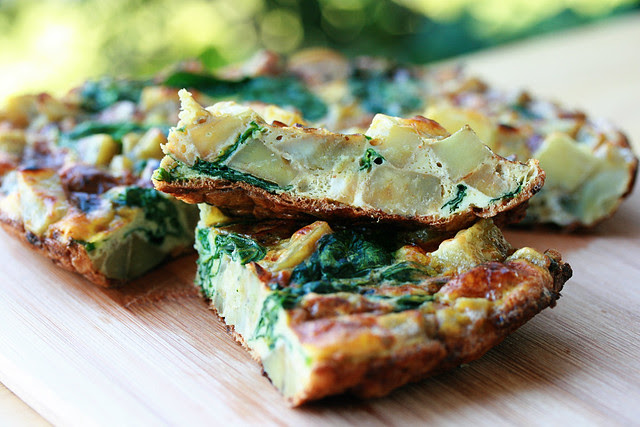 Basque Potato Tortilla - French Fridays with Dorie