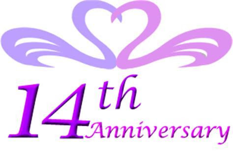 14th wedding anniversary gift ideas   Perfect 14th