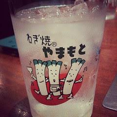 cute cups! negiyaki Yamamoto #osaka #lunch