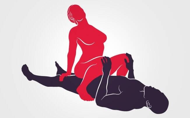 32. A DOMINADORA: Posição preferida por muitas mulheres, já que o controle delas é absoluto na busca pelo orgasmo . Foto: Renato Munhoz (Arte iG)