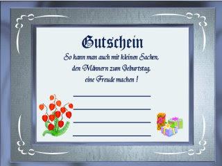 Spr He F Einen Gutschein Zum Geburtstag