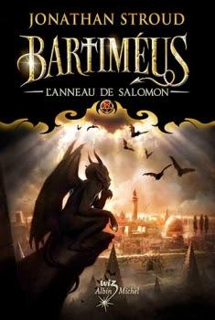 Couverture La Trilogie de Bartiméus, tome 4 : L'Anneau de Salomon