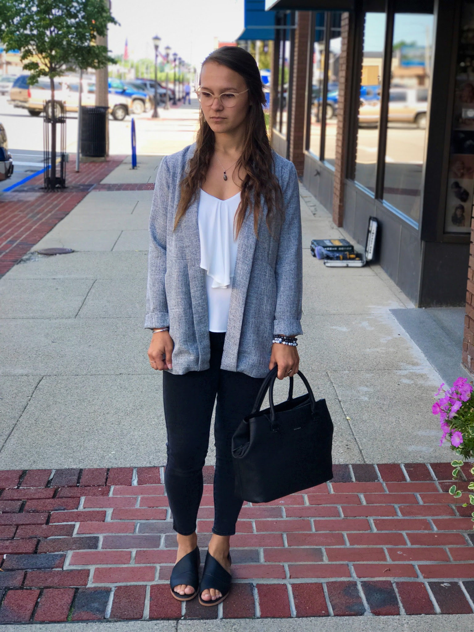 style the blog  business casual looks for summer