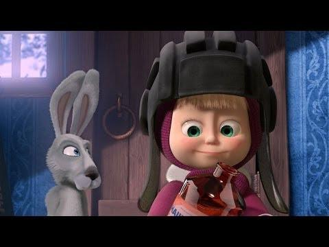 Кадр из мультфильма «Маша и Медведь : Лыжню! (серия 14)»