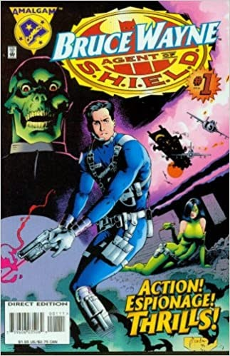 Bruce Wayne Agent Of Shield Comic