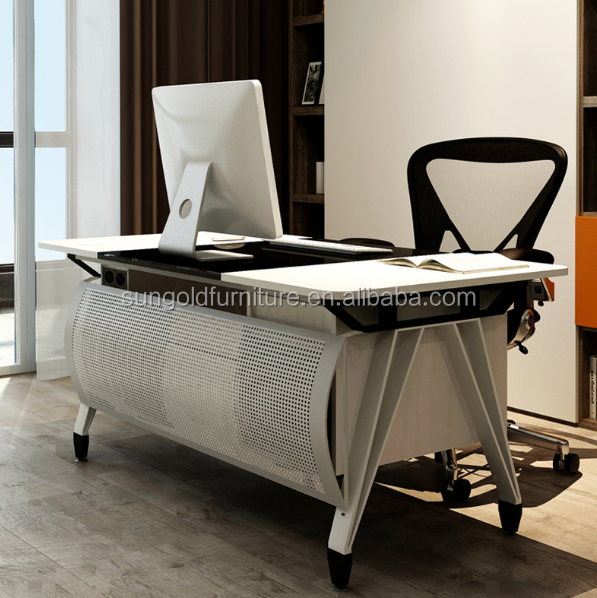 Modern White Executive Home Office Table Computer Table Designs Sz Odb368 View Executive Office Table Sun Gold Product Details From Foshan Sun Gold Furniture Co Ltd On Alibaba Com