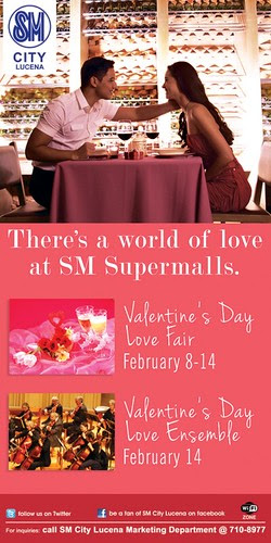 SM City Lucena Valentines Activities