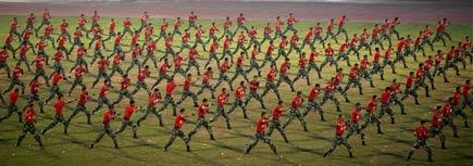 soldati cinesi
