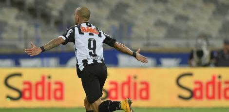 Atlético Mineiro bateu o arquirrival Cruzeiro por 1x0, com gol de Diego Tardelli (foto) / Foto: DOUGLAS MAGNO / AFP