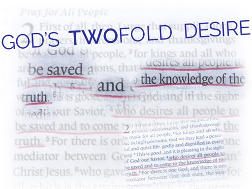 God's Twofold Desire