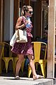 lea michele m cafe lunch 03