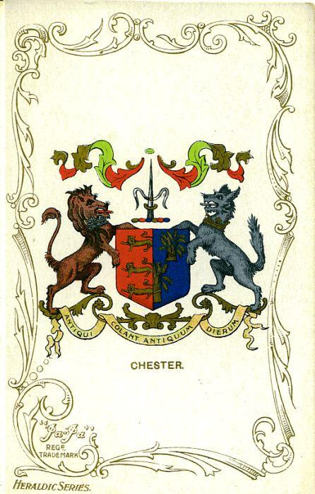 Chester City post card ja ja