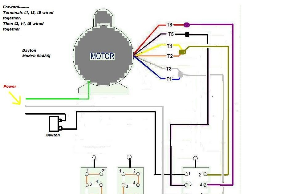 Wiring Diagram  34 Dayton Electric Motors Wiring Diagram