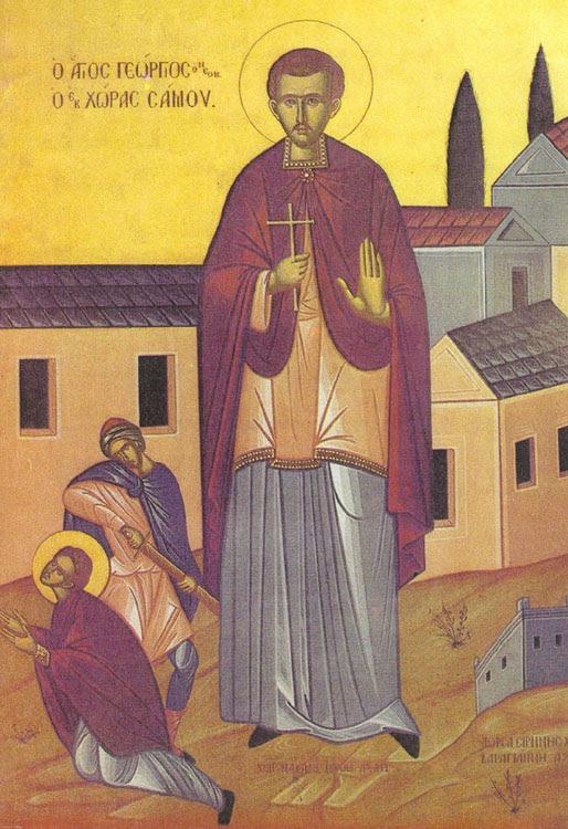 IMG ST. GEORGE, New-martyr, of Ephesus