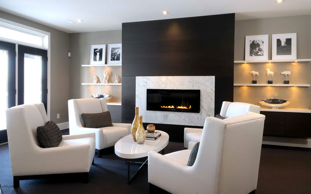 2010 HHL - Family Room - contemporary - family room - other metro