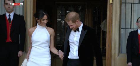 Meghan Markle Debuts Second Wedding Dress by Stella